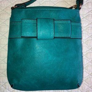 Handbags - Teal Crossbody Purse